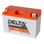 Аккумулятор для мототехники Delta CT 1209.1 (12 В, 9 Ач)