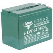 Тяговый гелевый аккумулятор Rutrike 6-EVF-52 (12V52A/H C3)