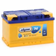 Аккумулятор Аком LB 74 А/ч обр низк