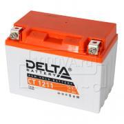 Аккумулятор для мототехники Delta CT 1211 (12 В, 11 Ач)
