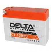 Аккумулятор для мототехники DELTA CT 12025 (12 В, 2,5 Ач)