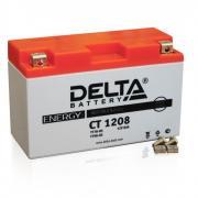 Аккумулятор 12в 8ач Delta Ct1208 (yt7b-bs) (кислотный, герметичный) (прямая полярн) (150*66*93мм)