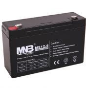 Аккумулятор MNB MS12-6 6V 12Ah