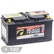 Аккумулятор Black Horse 100 А/ч, обратная полярность