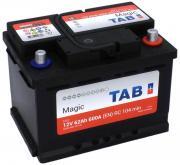 Аккумулятор автомобильный TAB Magic 56200 6СТ-62 обр. (низкий) 242x175x175
