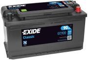 Аккумулятор автомобильный EXIDE EC900 90 Ач