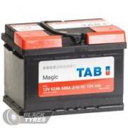 Аккумулятор Tab Magic 62 А/ч, обратная полярность