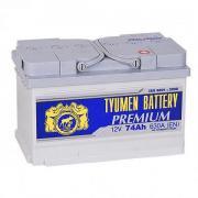 Аккумулятор автомобильный TYUMEN BATTERY PREMIUM 6СТ-74 низ обр. 278x175x175