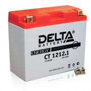 Аккумулятор 12в12ач Delta Ct1212.1 (yt12b-bs) (кислотный, герметичный) (прямая поляр) (150*70*130мм)