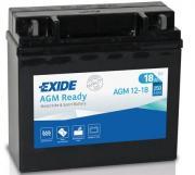 Аккумулятор автомобильный EXIDE AGM12-18 18 Ач