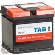 Аккумулятор Tab Magic 55 А/ч, обратная полярность