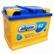 Аккумулятор Аком 62 А/ч обр 6CT-62.0 LA