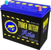 Аккумулятор автомобильный TYUMEN BATTERY Asia 6СТ-50 обр. (60B24L) 236x127x225
