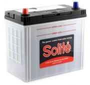 Аккумулятор автомобильный SOLITE 65B24R 6СТ-50 прям. 238x127x225
