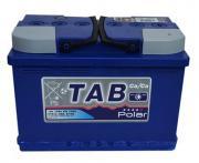 Аккумулятор автомобильный TAB Polar 57413 6СТ-74 прям. 278x175x190
