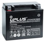 Мотоциклетный аккумулятор UPLUS LT12-4 (YTX12 /YTX12H) SuperStart 150x87x130