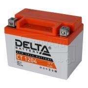 Аккумулятор для мототехники Delta CT 1204 (12 В, 4 Ач)
