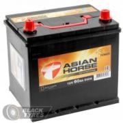 Аккумулятор Asian Horse 60 А/ч, обратная полярность