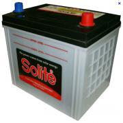 Аккумулятор автомобильный SOLITE 75D23L 6СТ-65 обр. 232x173x225