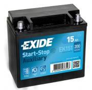 Аккумулятор автомобильный EXIDE EK151 15 Ач