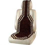 Массажная накидка на сиденье skyway massage-04 темное дерево, светлый рисунок s01305003
