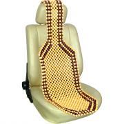 Накидка на сиденье - шариковый массажер с подголовником autovirazh av-010052