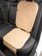 Чехлы (накидки) под автокресло. Защита сидений авто. Цвет: бежевый. 1 шт. РОМБ