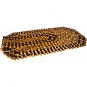 Массажная накидка на сиденье dollex 127х39 см, дерево dl-012