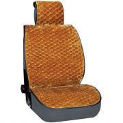 Накидка сиденья skyway arctic меховая, искусственный мутон, 5 предметов, коричневый, соты s03001057