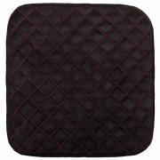 Накидка сиденья skyway expensiv без спинки, алькантара, черная s01304005