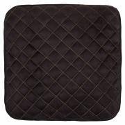 Накидка сиденья skyway expensiv без спинки, алькантара, черная s01304004