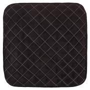 Накидка сиденья skyway expensiv алькантара, без спинки, черная s01304003