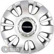 "Колпаки на диски Trebl Model T-16407 16"" гибкие, 4 шт."