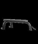 BRONZE GYM H-036 Скамья горизонтальная (ЧЕРНЫЙ)