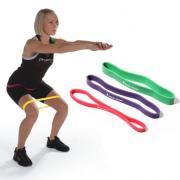 Эспандеры для ног mini bands pro набор из 3-х шт.