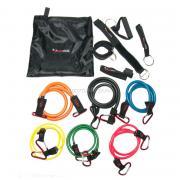 Sport Steel Эспандер многофункциональный Resistance Band Kit Premium (6 жгутов)