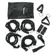 Sport Steel Эспандер многофункциональный Resistance Band Kit (4 жгута)