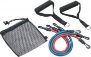 Эспандер плечевой Pro Supra 308-3 3 жгута 48см