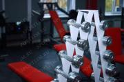 Гантельный оцинкованный ряд (1-10 кг. шаг 1 кг)