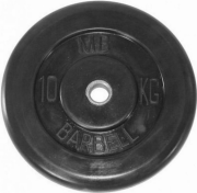 Диск обрезиненный MB Barbell MB-PltB51-10