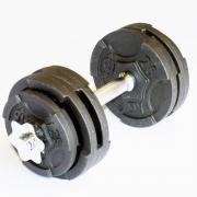 Гантель разборная MironFit чугунная 14.5 кг