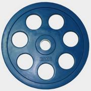 "Олимпийский диск евро-классик с хватом ""Ромашка"", 20 кг."