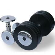 Обрезиненный гантельный ряд Fitnes Sport от 2.5 до 30кг (12 пар)