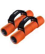 Гантель неопреновая Starfit DB-203 1 кг оранжевая (пара) (УТ-00007087)