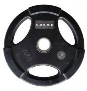 Диск GROME WP074 BLACK-20 кг
