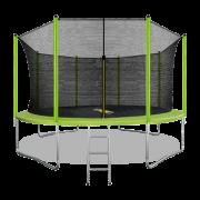 ARLAND Батут 14FT с внутренней страховочной сеткой и лестницей (Light green) (СВЕТЛО-ЗЕЛЕНЫЙ)