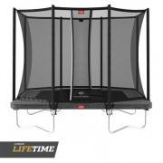 Прямоугольные батуты Батут BERG Ultim Favorit 280 Grey + Safety Net Comfort
