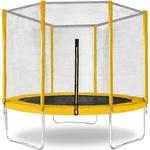 Батут КМС Trampoline 6 диаметр 1,8 м жёлтый