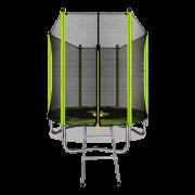 ARLAND Батут 6FT с внешней страховочной сеткой и лестницей (Light green)