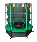 """Батут DFC Jump Kids 55"""" зеленый, сетка 137см 55INCH-JD-G"""